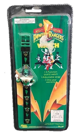1994 Vintage Sabans Mighty Morphin Power Rangers Watch