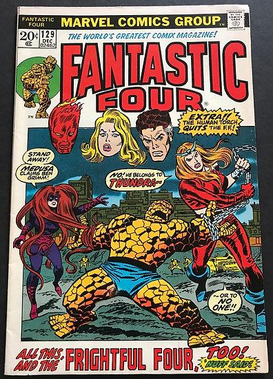 Fantastic Four (1961 1st Series) #129 FN/VF
