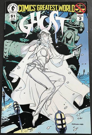 Comics Greatest World Ghost (1993) #1 VF/NM