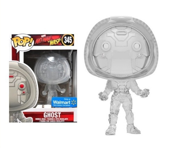 Ant-man And The Wasp Ghost Bobble Head 345 Walmart Exclusive