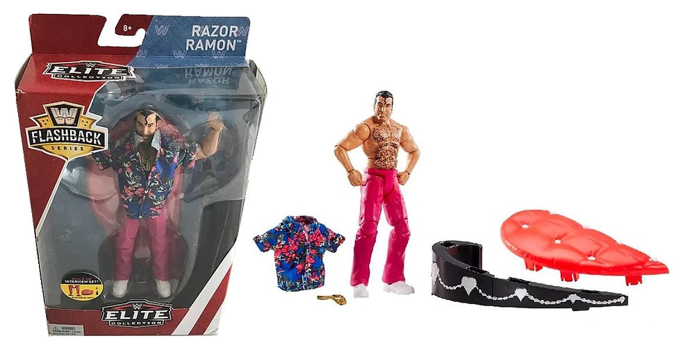 WWE Elite Collection Flash Back Series Razor Ramon Action Figure