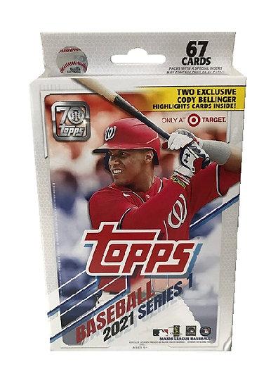 2021 Topps MLB S1 Baseball Trading Card Hanger Box [Exclusive]