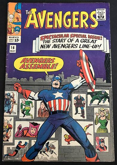 Avengers (Marvel ) #16 VG