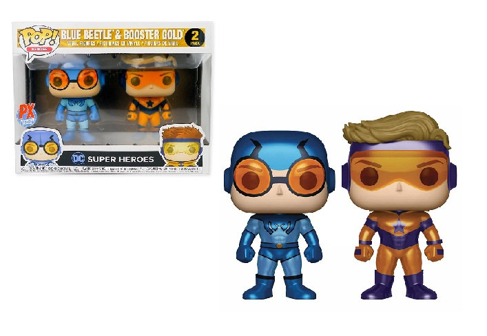DC Super Heroes Blue Beetle&Booster Gold 2 Pack PX Exclusive