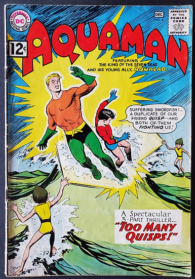 Aquaman (1962 1st Series) #6 VG/FN