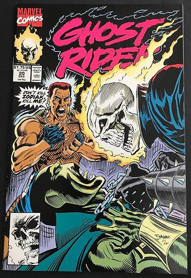 Ghost Rider (1990 2nd Series) #20 VF