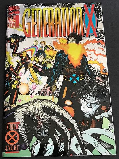 Generation X (1994) #1 NM-  [Foil Cover]