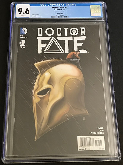Doctor Fate (2015 DC) #1B Variant Cover CGC 9.6 White Cover