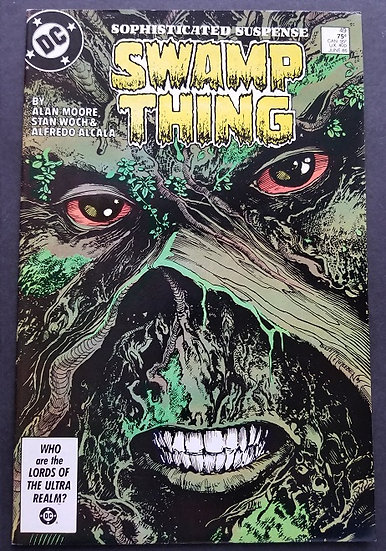 Swamp Thing (1982 2nd Series) #49 NM [1st Appearance of Justice League Dark.]