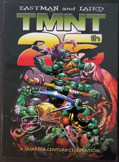 TMNT 25th Anniversary Quarter Century Celebration Book
