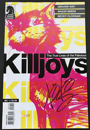 True Lives of The Fabulous Killjoys (2013) #1 VF/NM [Signed By Gerard Way]