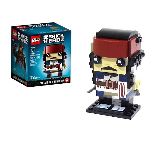 Lego Brick Headz Captain Jack Sparrow 41593