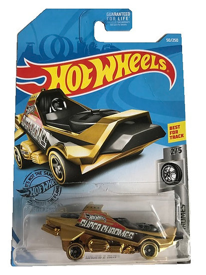 Hot Wheels Super Chromes Hover & Out