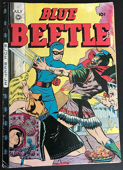 Blue Beetle 46 VG-