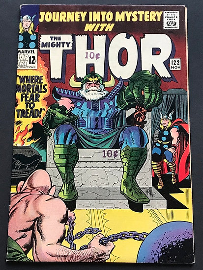 Thor (1962-1996 1st Series Journey Into Mystery) #122  NM-