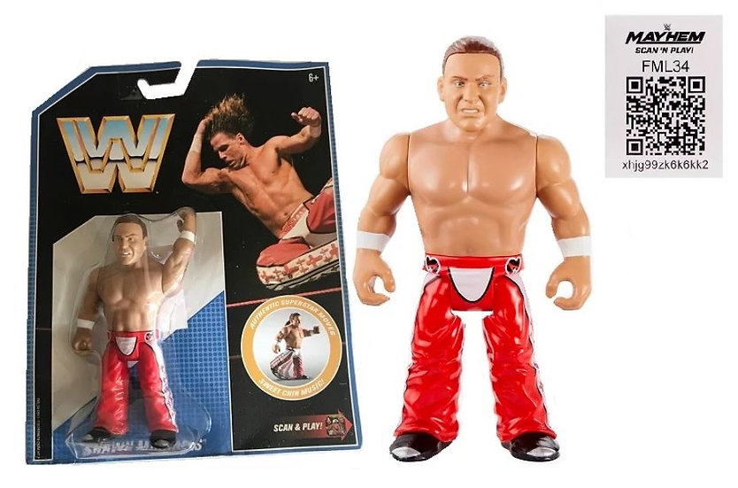 WWE Wresting Retro Series Shawn Michaels Mattel