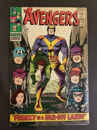 Avengers (Marvel ) #30 FN