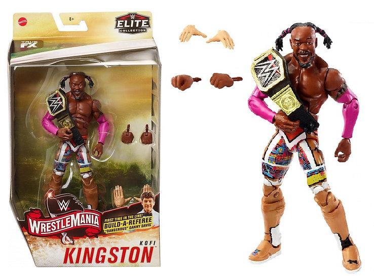WWE Elite Collection Wrestlmania Kofi Kingston Wrestling Figure
