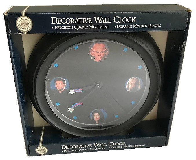 1995 Vintage Star Trek Decorative Wall Clock