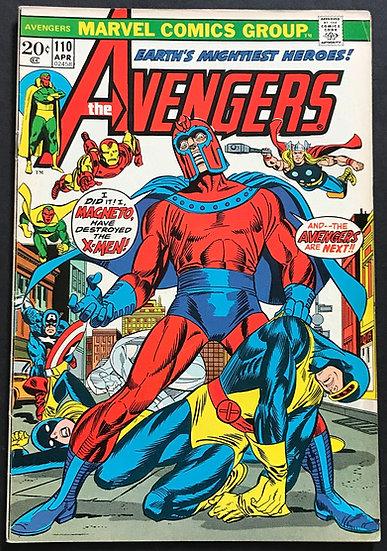 Avengers (Marvel ) #110 VF [Magneto appearance.]