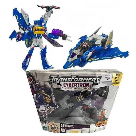 Hasbro Transformers Cybertron Series Voyager Class Soundwave Figure