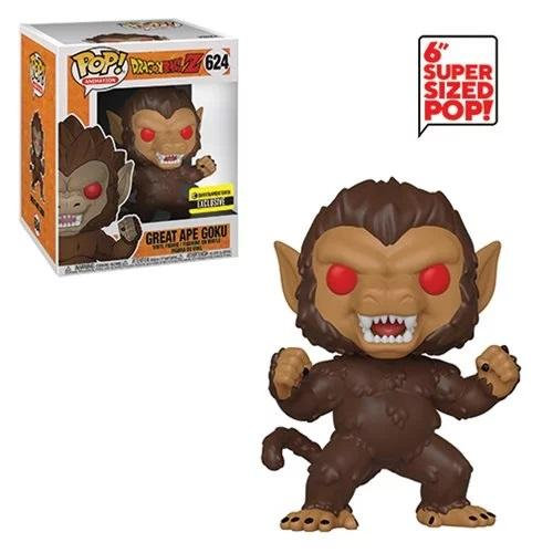 Funko Dragon Ball  6 Inch Great Ape Goku 624 Entertainment Earth Exclusive
