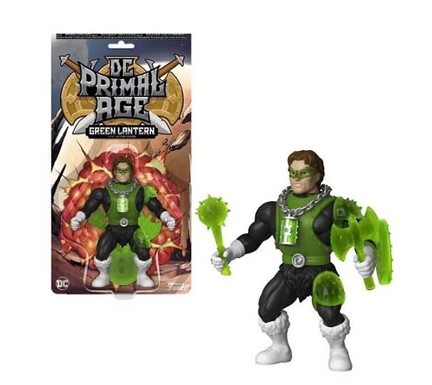 Funko Savage World DC Primal Age 5 1/2 inch Green Lantern Collectible