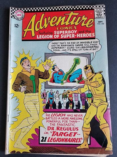 Adventure Comics (1938 1st Series) #348 VG/FN