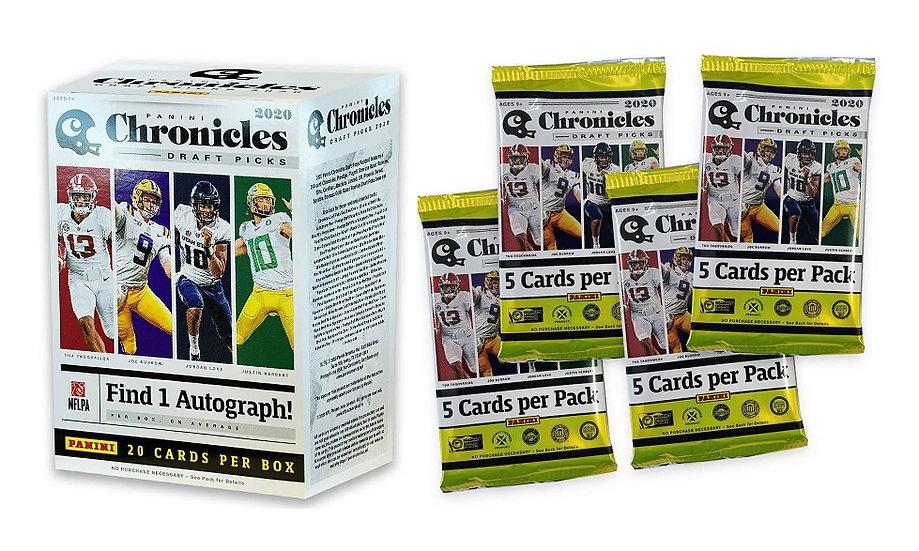 2020 Panini Chronicles Draft Picks Football Blaster Box