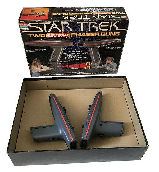 1979 Vintage Star Trek Two Phaser Guns (STPG1A)