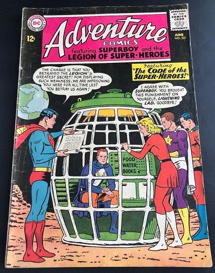 Adventure Comics (1938 1st Series) #321 FN