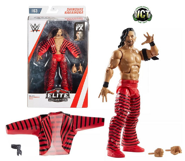 WWE Elite Collection Shinsuke Nakamura Figure Series 63
