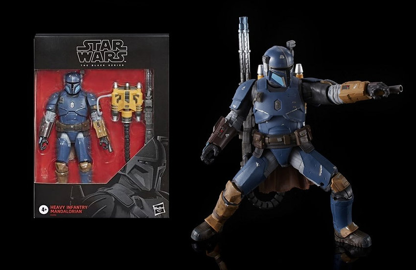 "Star Wars The Black Series Heavy Infantry Mandalorian 6"" Action Figure Exclusive"