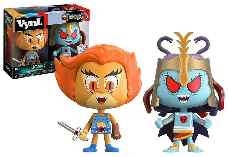 Vynl. Thunder Cats Classic Lion-o And Mumm-ra 2Pack NYCC2017 Exclusive