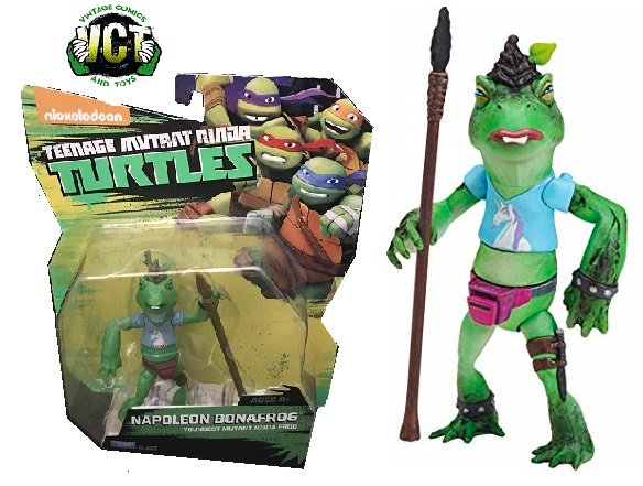 Teenage Mutant Ninja Turtles Napoleon Bonafrog Youngest Mutant Ninja Frog Figure