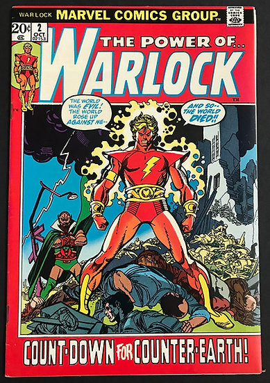 Warlock (1972 Marvel 1st Series) #2 VF/NM