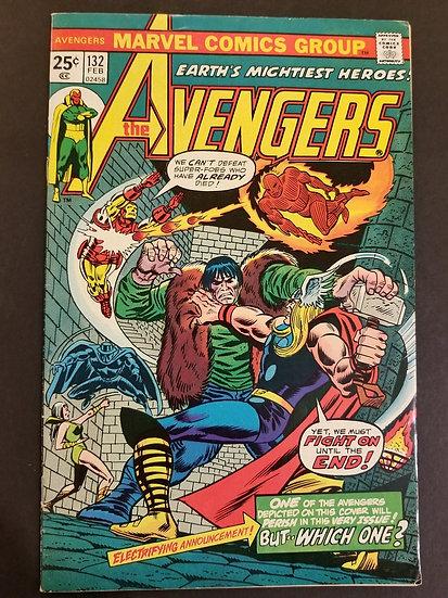 Avengers (Marvel ) #132 VF+