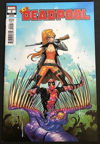Deadpool (2019 Marvel) #2B NM [Variant]