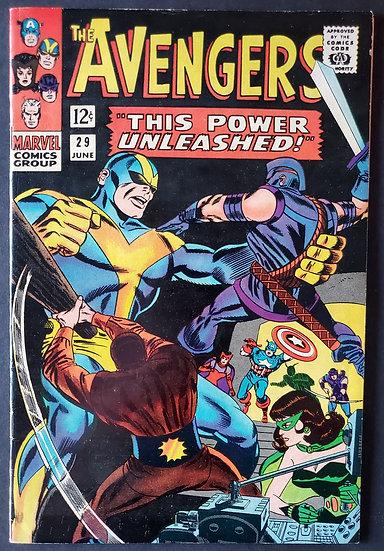Avengers (Marvel ) #29 VF- [Black Widow App.]