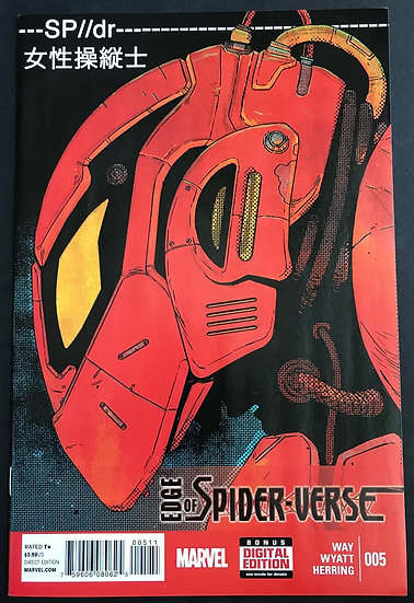 Edge of Spider-Verse (2014 Marvel) #5A NM+