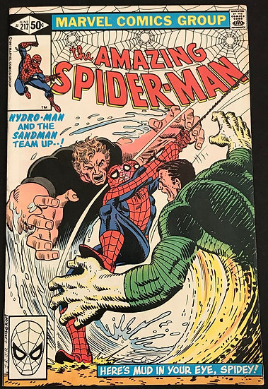 Amazing Spider-Man 217 FN/VF