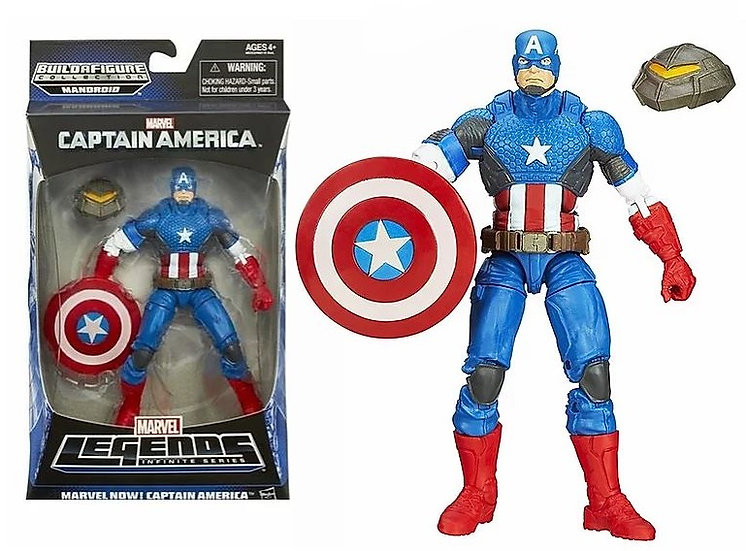 Marvel Legends Infinite Series Captain America