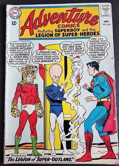 Adventure Comics (1938 1st Series) #324 VG