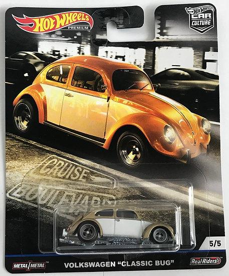 2019 Hot Wheels Premium Car Culture Cruise Boulevard Volkswagen Classic Bug
