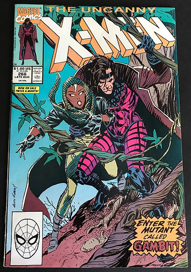 X-Men 266 VF 1st appearance of Gambit.