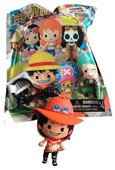 Shonen Jump One Piece Exclusive A 3-D Figural Bag Clip