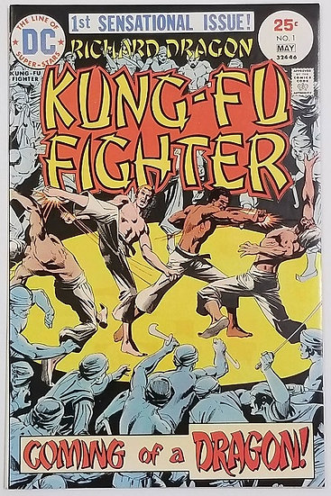 Richard Dragon Kung-Fu Fighter 1 VF/NM