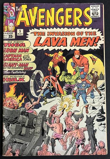 Avengers (Marvel ) #5 VG