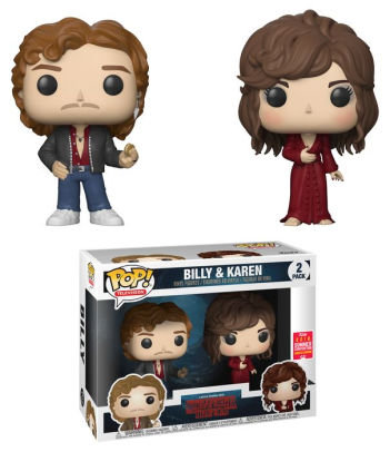 Funko Pop Stranger things Billy And Karen ( 2 Pack ) SDCC 2018 Exclusive