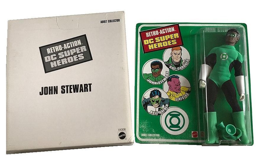 "2011 Vintage Retro-Action DC Super Heroes 8"" John Stewart  Figure By Mattel"